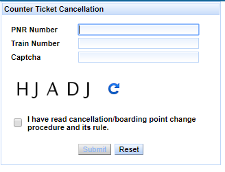 Ticket Cancellation